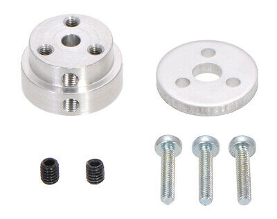 Pololu Aluminum Scooter Wheel Adapter for 4mm Shaft 2672