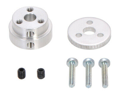 Pololu Aluminum Scooter Wheel Adapter for 1/4? Shaft 2675