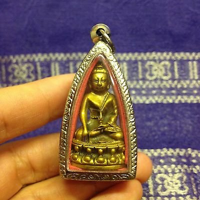 Beautiful Kring Lp Koon Thai Buddha Amulet Talisman Luck Rich Wealth Protect