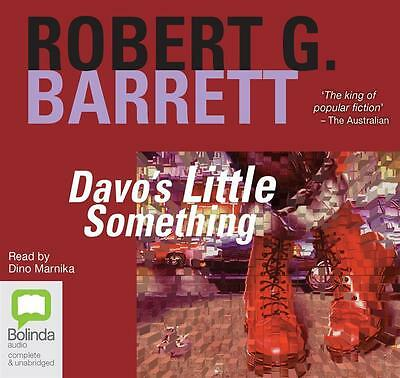 NEW Davo's Little Something By Robert G. Barrett Audio CD Free Shipping