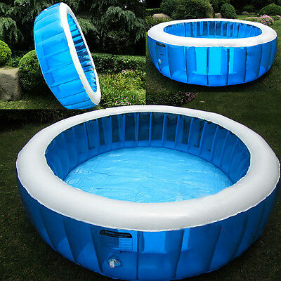 New Large Family Inflatable Swimming Pool Spas Water Outdoor Backyard Kids Play