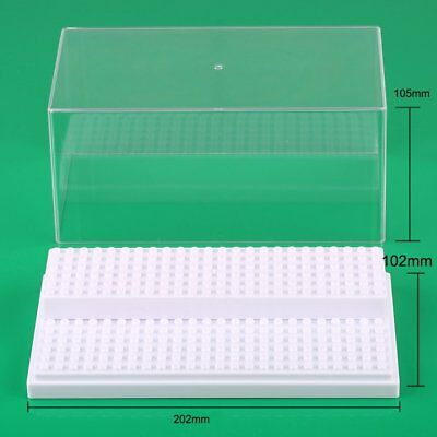 New Gift White 1pcs Display Box for Lego minifigure build toy Stackable Case