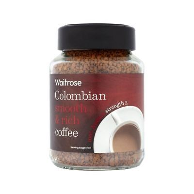 Gold Colombian Freeze Dried Coffee Waitrose 100g