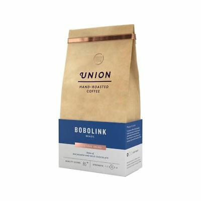 Union Coffee Light Roast Cafetiere Grind - Bobolink Brazil 200g