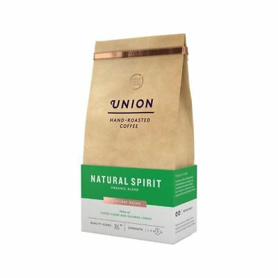 Union Coffee Organic Medium Roast Cafetiere Grind Blend - Natural Spirit 200g