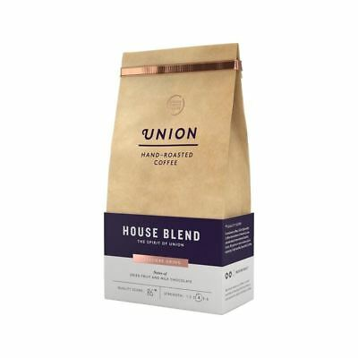 Union Coffee Medium Roast Cafetiere Grind - House Blend 200g