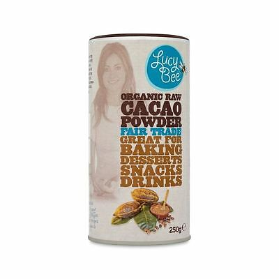 Lucy Bee Organic Raw Fair Trade Cacao Powder 250g