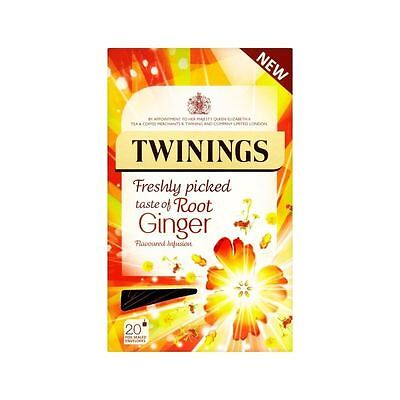 Twinings Fresh Tasting Ginger Root 20 per pack