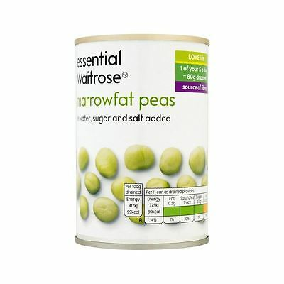 Marrowfat Peas essential Waitrose 300g