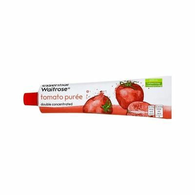 Double Concentrated Italian Tomato Puree essential Waitrose 200g