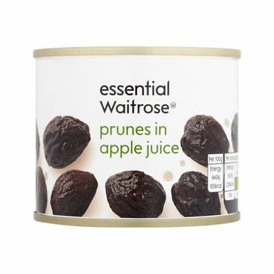 Prunes in Fruit Juice essential Waitrose 215g