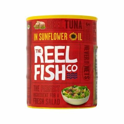 The Reel Fish Co. Tuna in Sunflower Oil 3 x 160g