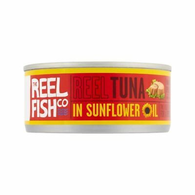 The Reel Fish Co. Tuna in Sunflower Oil 160g