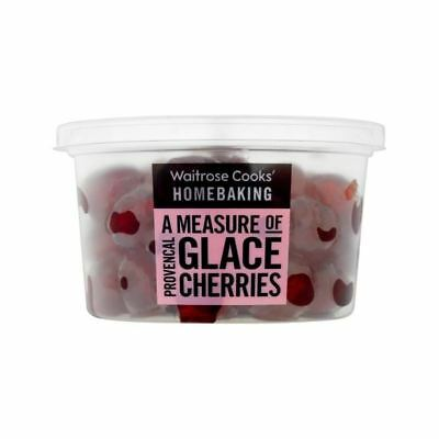 Cooks' Ingredients Glace Cherries Waitrose 200g