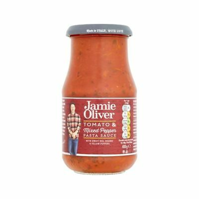 Jamie Oliver Tomato & Mixed Pepper Pasta Sauce 400g