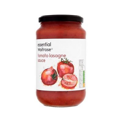 essential Lasagne Red Sauce Waitrose 555g • AUD 7.50