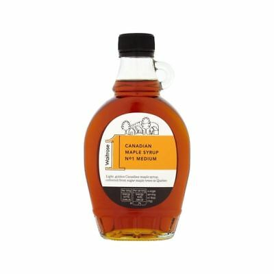 Canadian Maple Syrup Medium No. 1 Waitrose 250ml