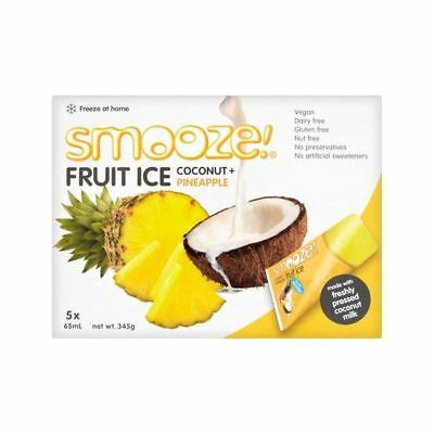 Smooze Pineapple Fruit Ice Lollies 5 x 65ml