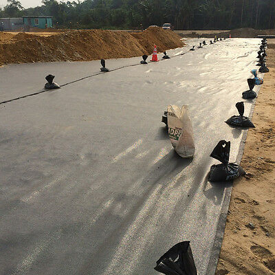Woven Geotextile Membrane Geotec 90 Terram Equivalent 4.5m x 100m Roll