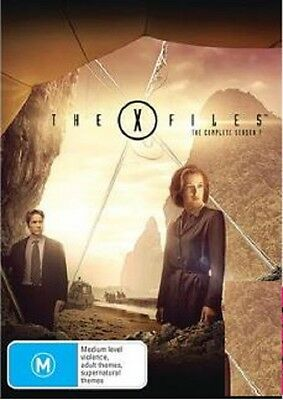 The X-Files: Season 7 (DVD, 6-Disc Set), NEW PACKAGING SEALED REGION 4