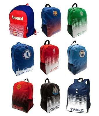 Football Team Backpack Rucksack School Bag Fade Design Boys Kids Gift Official