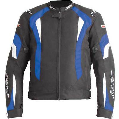 RST R-16 Sport Blue Textile Motorcycle Motorbike Sports Jacket | All Sizes