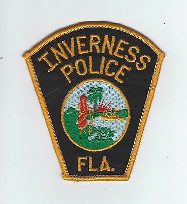 VINTAGE INVERNESS, FLORIDA POLICE patch