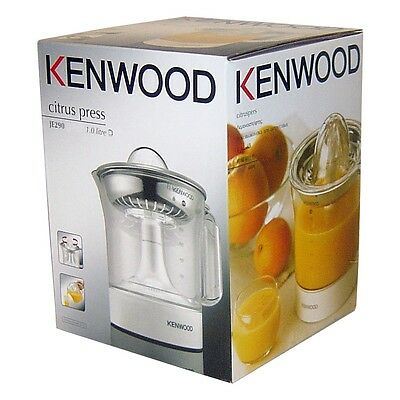 Kenwood Citrus 40W Stainless Steel Filter Fruit Juicer Extractor Press Je290
