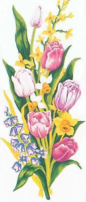 Grafitec Printed Tapestry/Needlepoint Canvas – Tulips