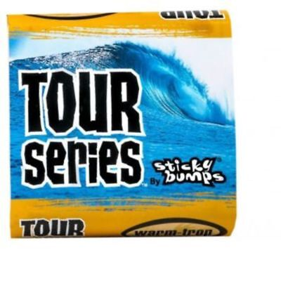 Sticky Bumps Tour Series Surf Wax - Warm / Tropical (White) Mens Unisex Surfing