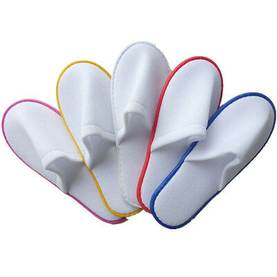 1 pairs Shoes Slippers Spa Terry White Guest Towelling Hotel New Disposable