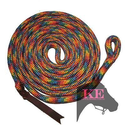 22 ft Lead Rope with Bull Snap Natural Horsemanship AUSTRLIAN MADE by KAROSEL