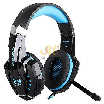 KOTION EACH G9000 Gaming Headset Headphone 3.5mm Stereo Jack with Mic HK Ship
