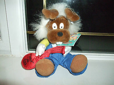 Dylan (Magic Roundabout) Soft Toy Plush With Tags Dated 1993 Vgcc
