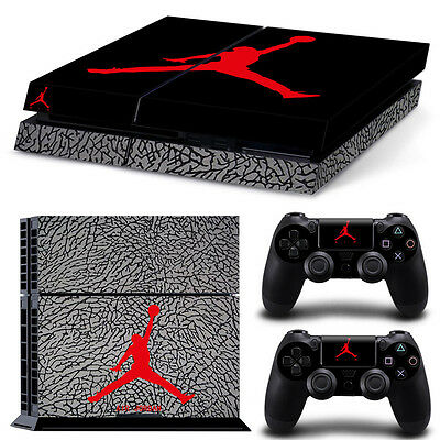 Michael Jordan Sticker Vinyl Decal Skin Cover For Sony PS4 Console Controller