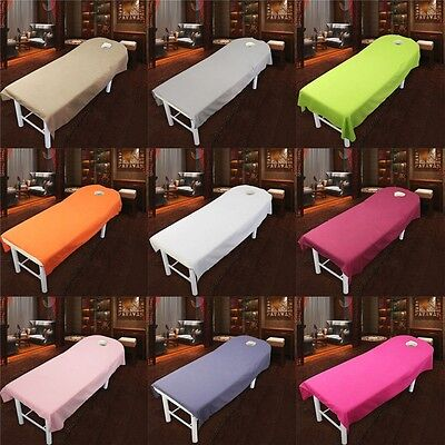 Beauty Shop Therapy Massage Table Cover 1 Piece Single Fitted Bed Sheet