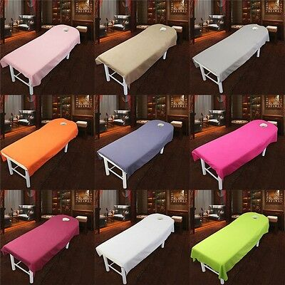 Beauty Shop Therapy Massage Table Cover Comfort Couch Bed Sheet 9 Colors