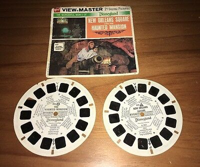 New Orleans Square And Haunted Mansion View Master