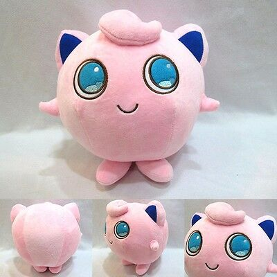 "Anime Pokemon Pocket Monster Jigglypuff 6"" Stuffed Doll Cosplay Plush Toy Gift"