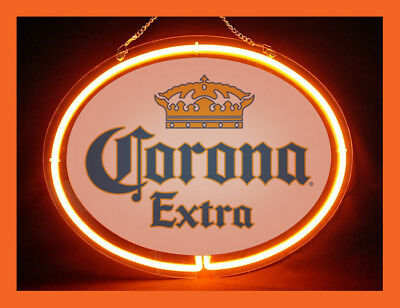 Corona Extra Beer Bar Pub Neon Sign