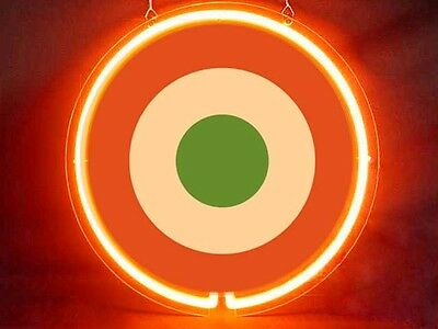 Army Military Italy Air force Roundel Display Neon Sign
