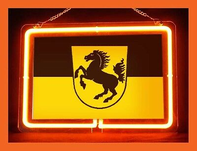 Stuttgart coat of arms GERMANY Display Neon Sign