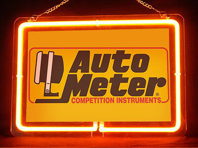 Auto Meter Garage Service Parts Display Decor Neon Sign