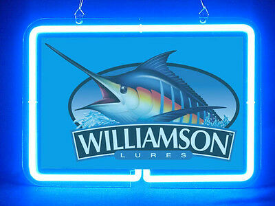 Williamson Fly Fishing Service Parts Display Decor Neon Sign