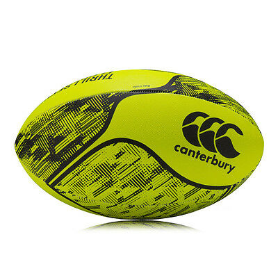 Canterbury Thrillseeker Unisex Junior Yellow Athletic Training Rugby Ball