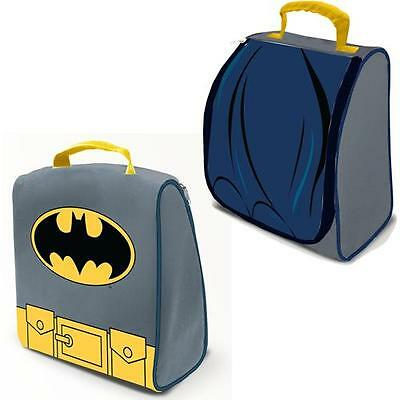 Batman - Costume Shaped Lunch Bag / Cool Bag - New & Official DC Comics With Tag