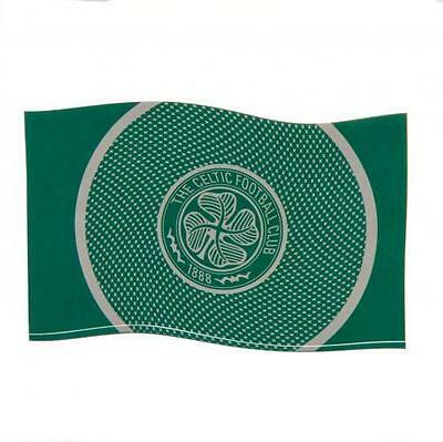 Celtic FC Football Club Bullseye Flag Style Green White Supporter Fan Banner