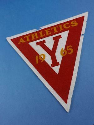 Ymca Ywca 1965 Athletics  Large Award Patch Vintage Collector
