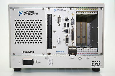 National Instruments PXI-1002 Chassis Mainframe + PXI-8175 Controller
