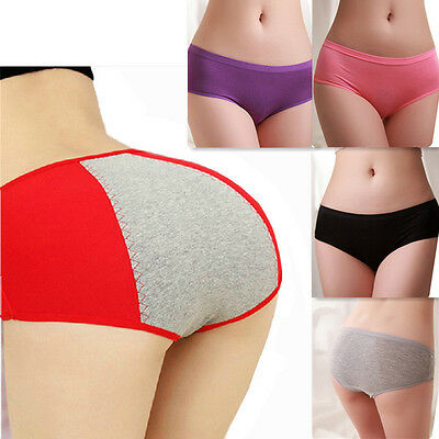 NEW Women Menstrual Period Physiological Leakproof Panties Briefs Underwear Pant